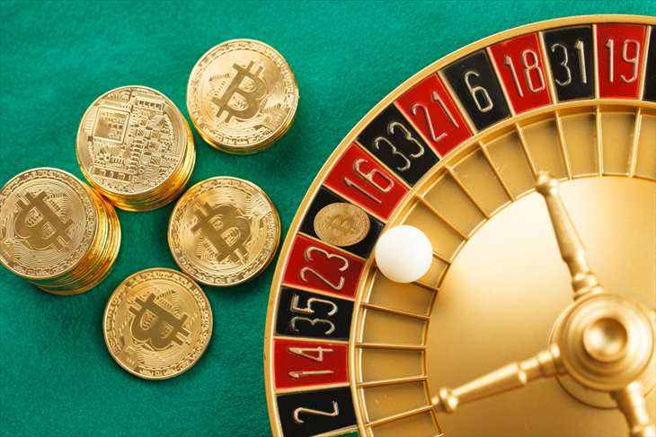 オンラインカジノへはビットコイン(仮想通貨)でも入出金できる