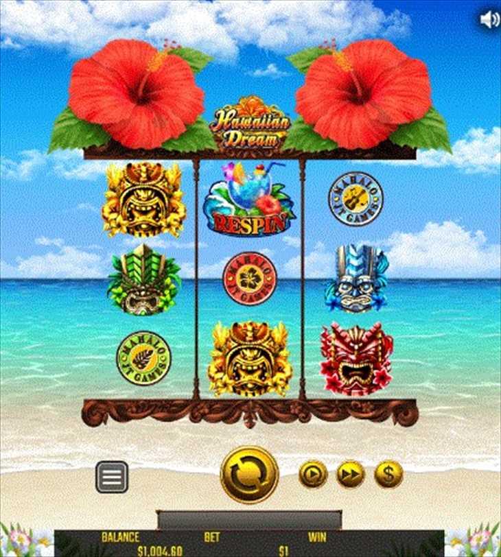花魁DREAMの先代「Hawaiian Dream」はこんなゲーム