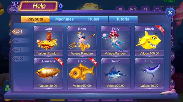 Go Gold Fishing 360の基本ルールや遊び方