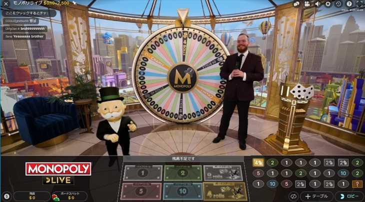 モノポリーはボーナスゲームが激アツ!画像付きで内容をご紹介