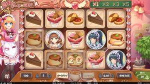 MAGIC MAID CAFEに登場するシンボルはたったの7種類だけです。