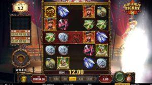 キャラクターを含むシンボルが消えると、画面左下にある「WILDS」のゲージが貯まります。