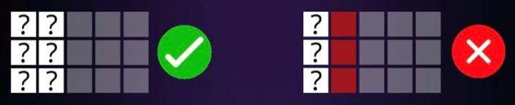 ユーフォリアのペイラインは、停止したシンボルの数によって決まります。